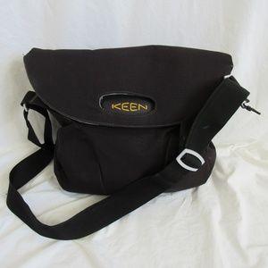 Keen Black HYBRID TRANSPORT Messenger Bag